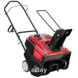 Honda HS720AM 20-Inch 190cc 4-Cycle Single-Stage Semi-Self Propelled Snow Blower