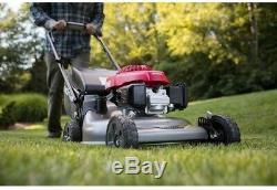 Honda Self Propelled Lawn Mower Gas Auto Choke Variable Speed Wheels Handlebar