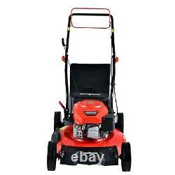 Hot PowerSmart DB2194SR 21 3-in-1 170cc Gas Self Propelled Lawn Mower