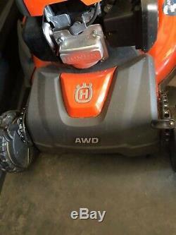 Husqvarna HU800AWD 190-cc 22-in Self-propelled Gas Lawn Mower with Honda Engine