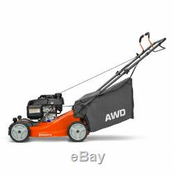 Husqvarna L221A Honda AWD Compact 21 Inch Self Propelled Walk Behind Lawn Mower