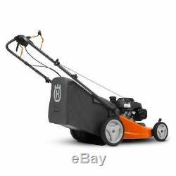 Husqvarna Walk Behind 21 Inch Self Propelled Gas Mower, Orange (Used)