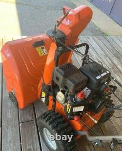 Husqvarna st224 24in 208cc 2stage self propelled gas snow blower Electric Start