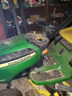 John Deere D140 Riding Lawn Mower 22HP used twice 48 in