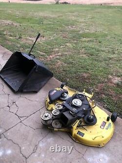 John Deere X300R Lawn Mower 42 Deck Kawasaki 18HP Twin Engine! Only 82 hours