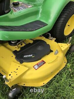 John Deere X340 Lawn Mower Tractor 25HP Kawasaki Twin Engine 54 Deck