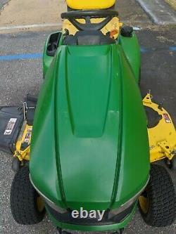 John Deere X390 Lawn Mower Tractor 23HP 54 Deck! - Power Steering