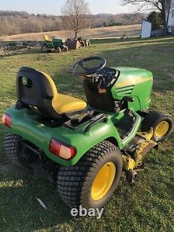 John Deere X475 Lawn Mower Tractor 54 Deck Kawasaki 23HP Twin Engine