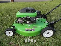 Lawn Boy, vintage, 21 inch self propelled mower, 4 cycle, 4.5hp engine, 1996 model