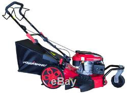 Lawn Mower 20 3- in-1 Gas Self Propelled Easy Pull Starting- Side Discharge