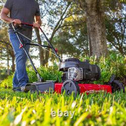 Lawn Mower Briggs and Stratton 20 125cc Gas Push Side Discharge Lawn Mower