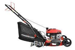Lawn Mower Gas Self Propelled Walk Behind Yard Compact Lightweight Bagger Durabl