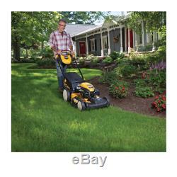 Lawn Mower High Rear Wheel Self Propelled Gas Walk Behind Cut Front Wheel Drive