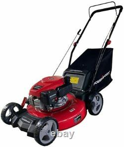 Lawn Mower Push Self Propelled 170cc Gas 3 Cutting Systems Adjustable Height