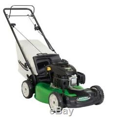 Lawn Mower Speed All Wheel Drive Gas Walk Behind Self Propelled Durable Home