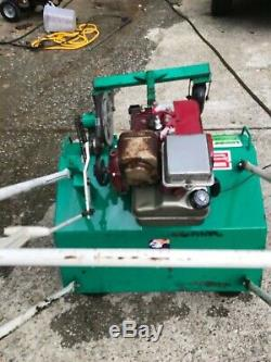 Lesco Aerator 30 self propelled gas all metal construction 5 HP American built