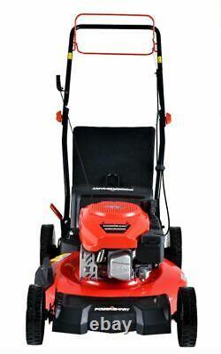 NEW! PowerSmart DB2194SR 21 3-in-1 170cc Gas Self Propelled Lawn Mower