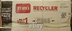 NEW! TORO Recycler 22 in. Variable Speed Electric Start Self Propelled Gas 20334