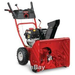 New 24 in. 208 cc Two-Stage Gas Snow Blower with Electric Start Self Propelled