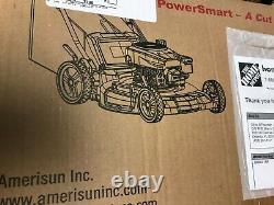 PowerSmart 21 in. 170 cc Gas 3-in-1 Walk Behind Self Propelled Lawn Mower