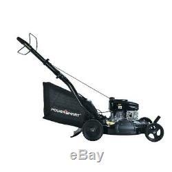 PowerSmart 21 in. 3-in-1 170cc Gas Walk Behind Self Propelled Lawn Mower