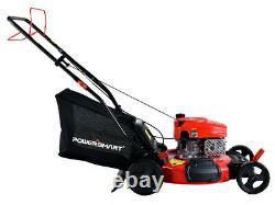 PowerSmart DB2194SR 21 3-in-1 170CC Gas Self Propelled Lawn Mower New
