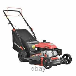 PowerSmart DB2194SR 21 3-in-1 170cc Gas Self Propelled Lawn Mower