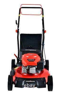 PowerSmart DB2194SR 21 3-in-1 170cc Gas Self Propelled Lawn Mower FREESHIP