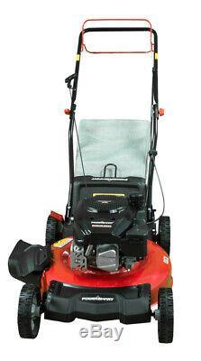 PowerSmart DB2321SR 21 3-in-1 170cc Gas Self Propelled Lawn Mower