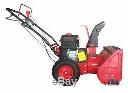 PowerSmart Gas Powered Snow Blower Self Propelled 22 Brand New Machine Red
