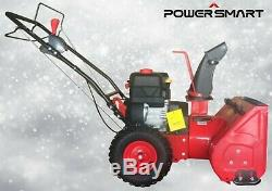 PowerSmart Gas Snow Blower Self Propelled 22 2-Stage Manufacture Refurbished