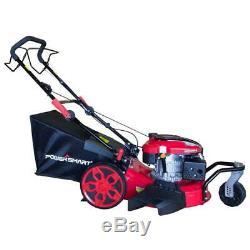 PowerSmart Walk Behind Lawn Mower 20 In 3-in-1 196cc Gas Self Propelled