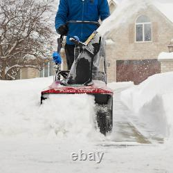 Power Clear 721 QZE 21 in. 212 cc Single-Stage Self Propelled Gas Snow Blower wi