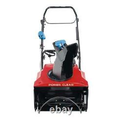 Power Clear 821 QZE 21 in. 252 cc Single-Stage Self Propelled Gas Snow Blower