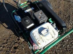 Ryan Lawnaire IV Walk Behind Lawn Aerator, Self Propelled, 4 HP Honda Gas Engine