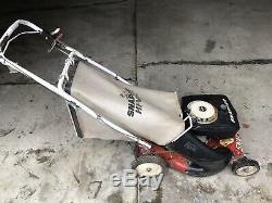 Sapper Hi Vac Self Propelled Lawnmower Briggs & Stratton 4 Hp