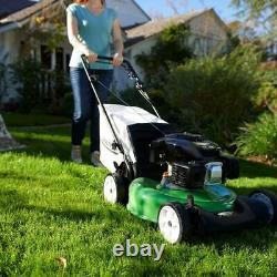 Self Propelled Gas Lawn Mower 21 3 In 1 Walk Behind Backyard Garden Grass Yard