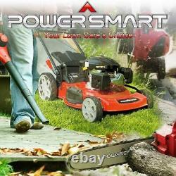 Self Propelled Gas Lawn Mower 22 3 in 1 Walk Behind Backyard Garden Grass Yard