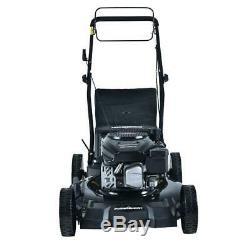 Self Propelled Gas Lawn Mower Walk Behind Backyard Garden Grass Yard 170cc Yard