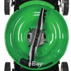 Self Propelled Gas Mulching Lawn Mower Walk Behind Rear Wheel Drive Commercial