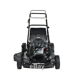 Self Propelled Lawn Mower 200cc Gas Walk Behind 22 3-in-1 Powerful Efficient