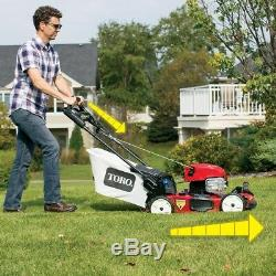 Self-Propelled Lawn Mower Gas Rear-Wheel Drive Briggs Stratton Variable Speed