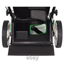 Self Propelled Lawn Mower Mulching Rear Wheel Drive Walk Behind Kohler Engine 21
