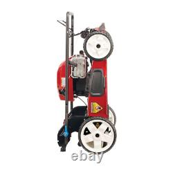 SmartStow High Wheel Variable Speed Walk Behind Gas Self Propell Recycler 22 in