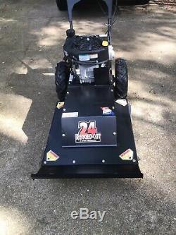 Swisher Predator 24 in 11.5 HP 4 Speed Self Propelled Walk Behind Brush Cutter