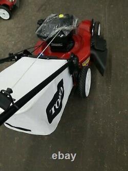 TORO 22 inch High Wheel Variable Speed Gas Walk Behind Self Propelled Mower