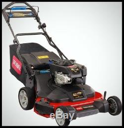TORO 30 in Self Propelled Lawn Mower 223cc Gas Powered Walk Behind Bag Mulching