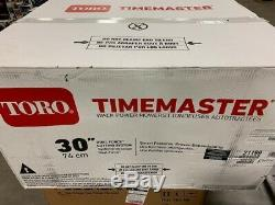 TimeMaster 30 in. Briggs & Stratton Personal Pace Self-Propelled Walk-Behind Gas