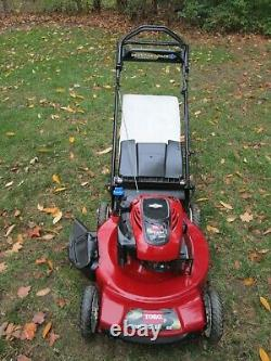 Toro 190 cc Self Propelled Lawn Mower Personal Pace Variable Speed PICK UP