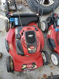 Toro 21 Self-Propelled Walk-Behind Gas Lawn Mower 7 hp 190cc